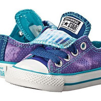 Outlet Converse Double Tongue in Periwinkle Shoes