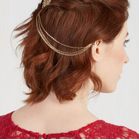 Vintage Inspired Chain the Rules Hair Comb by ModCloth