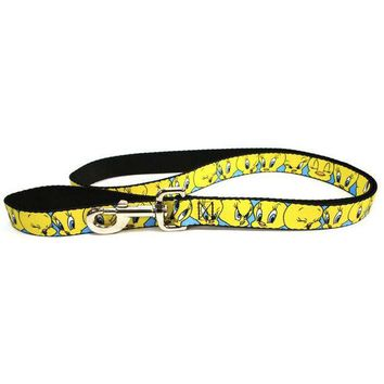 CREYCY8 Looney Tunes - Tweety Bird Expressions Dog Leash