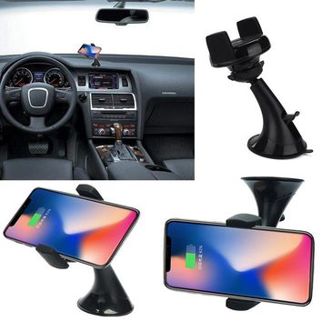 Qi Wireless Charger Dock Car Holder Fast Charger Charging Pad For iPhone 8/8Plus/X Qi Mobile Cell Phone Smartphone Charger