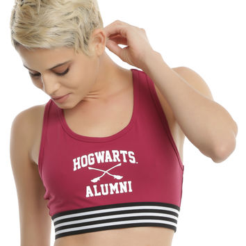 Harry Potter Hogwarts Alumni Sports Bra
