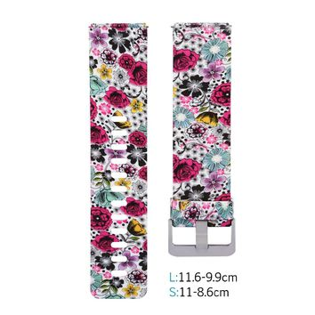 Rubber Replacement Accessory / Wristband Bracelet Strap for Fitbit Blaze Smart Fitness Watch SK-ID012