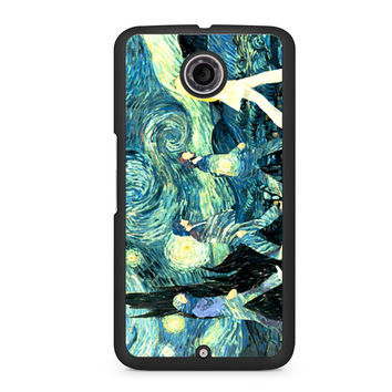 The Beatles Abbey Road Starry Night Nexus 6 case