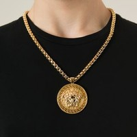 Versace Medusa Pendant Necklace - Elite - Farfetch.com