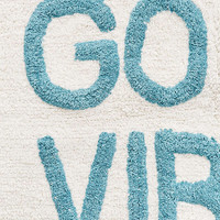 Good Vibes Tufted Bath Mat - Urban Outfitters