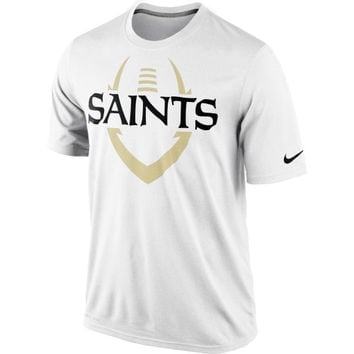 New Orleans Saints Nike Legend Icon Performance T-Shirt – White
