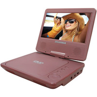 "Sylvania 7"" Portable Dvd Player (pink)"
