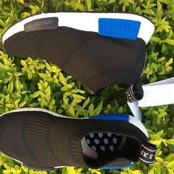 """Ready Stock"" adidas Originals NMD Chukka Mid Black Blue"