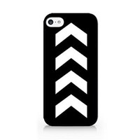 Geometric Design - Positive Symbol - Tattoo - Black - iPhone 5C - Hard Plastic Phone Case - Black Phone Case