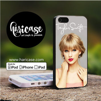 Taylor Swift Signature Cover Album iPhone 5 | 5S | SE Cases haricase.com