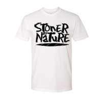 Stoner By Nature: Joint Tee | White
