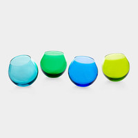 Colorful Wobble Glasses | MoMA Store