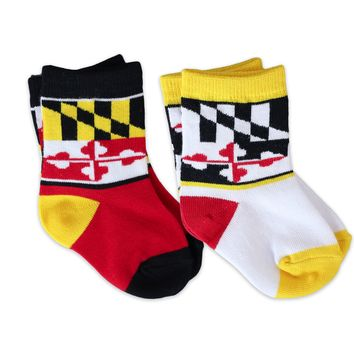 MARYLAND MINIS - RED YELLOW AND WHITE