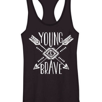 Young & Brave Tank
