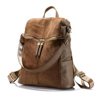 Leather Backpack/Purse