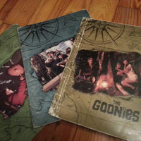 3 Goonies school folders from 1985 by SuperfunSuperstuff on Etsy