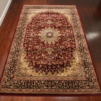 2118 Red Oriental Area Rugs