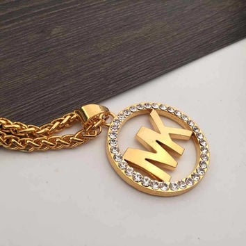 Jewelry Gift Stylish Shiny New Arrival Gold Club Necklace [6542718147]