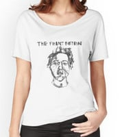 'The Front Bottoms Face and Name' Women's Fitted Scoop T-Shirt by diariesofpierce