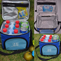 High Quality  Portable Insulated Thermal Cooler Picnic Lunch Box Carry Tote Storage Picnic Bag New Arrival