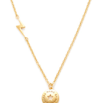 Marc by Marc Jacobs Jewelry Women's Star Coin Pendant Necklace - Gold
