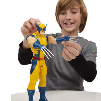 "12""30CM Marvel Super Hero X-men Wolverine PVC Action Figure Collectible XM001"