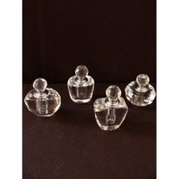 Crystal Perfume Bottles - 4 Styles (Party Favors)