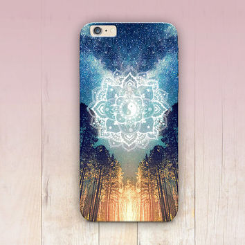 Fire Mandala Phone Case For - iPhone 6 Case - iPhone 5 Case - iPhone 4 Case - Samsung S4 Case - iPhone 5C - Tough Case - Matte Case