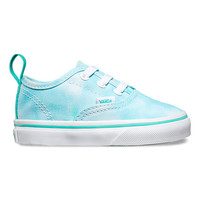Toddlers Tie Dye Authentic V Lace | Shop Toddler Shoes at Vans