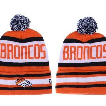 ESBON Denver Broncos Beanies New Era NFL Football Hat