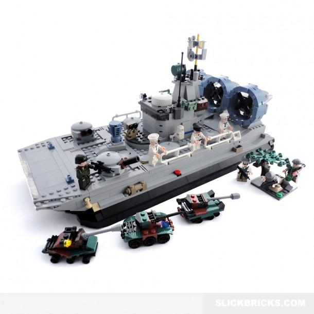 Military Transport Hovercraft Lego From Slick Bricks Cool
