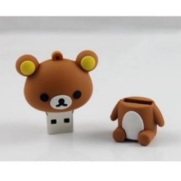 Cute Lovely Cartoon USB 2.0 Flash Drive 4GB lovely bear