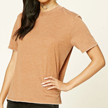 Distressed Boxy Tee
