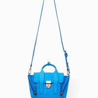 Azure Pashli Mini Satchel