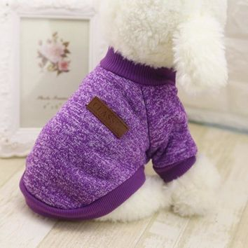 LL Soft Winter Dog Sweater
