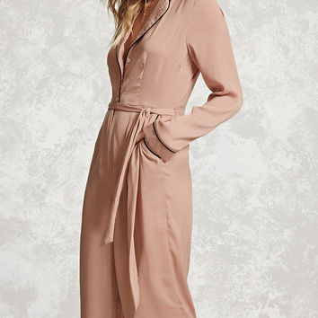 Contemporary Satin Jumpsuit