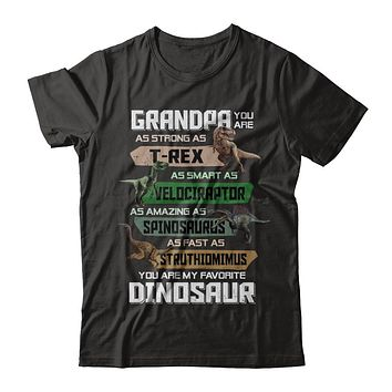 Grandpa You're My Favorite Dinosaur T-Rex Fathers Day