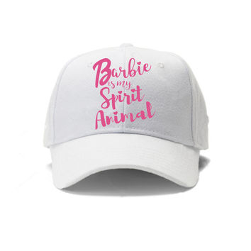 Barbie is my Spirit Animal shirt graphic, make your own t-shirt, barbie wall art, printable wall decor, instant download print, barbie print
