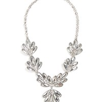 Silver Dame Necklace