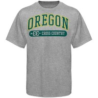 Oregon Ducks Cross Country Sports And Pride T-Shirt - Ash