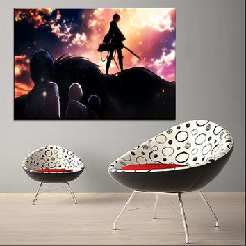 Cool Attack on Titan Painting On Canvas HD Print Type Style Wall Art Decor Framework 1 Pieces Armin Arlert Picture  Animation Poster AT_90_11