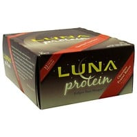 Clif Bar Luna Protein Chocolate Peanut Butter 12 Bars