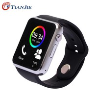 SmartWatch A1 Smart watch With Camera Bluetooth Pedometer Sleep Tracker MP3 Answer Call Smart Watches For Android iOS