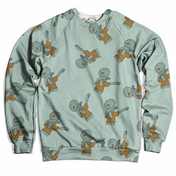 Dabbing Squid Sweater