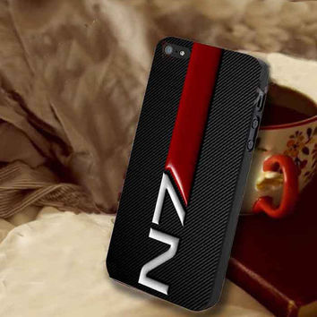 N7 mass effect customized for iphone 4/4s/5/5s/5c, samsung galaxy s3/s4/s5 and ipod 4/5 case