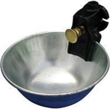 Smb Mfg - Metal Push Button Water Bowl For Cattle
