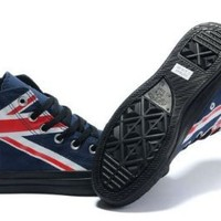 converse all star chuck taylor UK british flag blue (import from Hong Kong): Amazon.co.uk: Shoes & Accessories