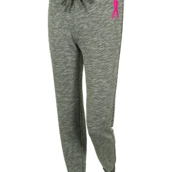 Ideology Women's BCRF Breast Cancer Pink Ribbon Sweatpants