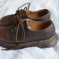 Doc Martens Dark Brown Leather Lace Up Oxford size 5 UK 7 US