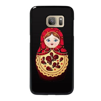 MATRYOSHKA RUSSIAN NESTING DOLLS Samsung Galaxy S7 Case Cover